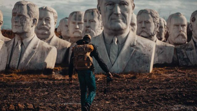 43 Presidential Busts Are Sitting in a Remote Field